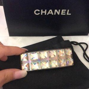 Chanel holographic barette